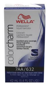 Wella Permanent Liquid Hair color, Medium Blonde Intense Ash, 1.4oz/42mL