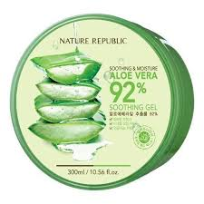 NATURE REPUBLIC Soothing & Moisture ALOE VERA 92% Soothing Gel 300ml/10.56fl.oz.