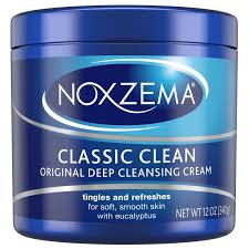 NOXZEMA CLASSIC CLEAN Original Deep Cleansing Cream 12oz.