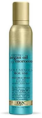OGX Renewing + Argan Oil of Morocco VOLUMINOUS MOUSSE FLEXIBLE HOLD 8oz