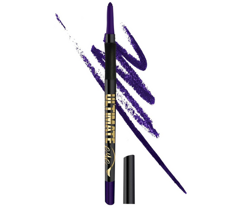 L.A. Girl Ultimate Intense Stay Auto Eyeliner, Perpetual Purple, 0.01 oz/0.35g
