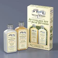 TATTOO SCIENCE Aftercare Kit for New Tattoo, Cleanser & Balm, 4fl.oz.