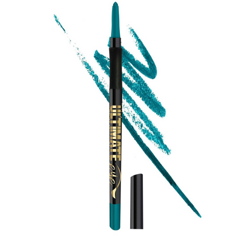 L.A. Girl Ultimate Intense Stay Auto Eyeliner, Totally Teal, 0.01 oz/0.35g