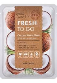 TONYMOLY Fresh To Go COCONUT Mask Sheet HYDRATING 22g