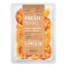 TONYMOLY Fresh To Go PUMPKIN Mask Sheet FIRMING 22g