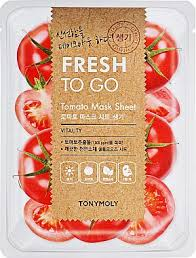 TONYMOLY Fresh To Go TOMATO Mask Sheet VITALITY 22g