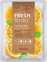 TONYMOLY Fresh To Go YUJA Mask Sheet SHINING