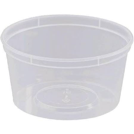 440ML Round Containers GENFAC (50/pack) - Virgara Fruit & Veg, Adelaide wide free fresh fruit & veg delivery