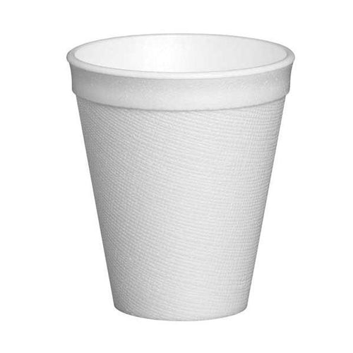 White Foam Cups 215ML/8oz (25/pack) - Virgara Fruit & Veg, Adelaide wide free fresh fruit & veg delivery