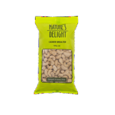 Cashews Roasted Unsalted 400G - Natures Delight - Virgara Fruit & Veg