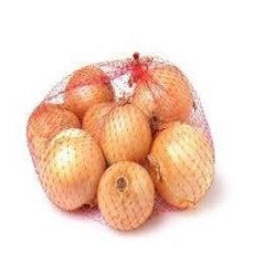 Brown Onion 1kg Bag or 5Pcs - Virgara Fruit & Veg