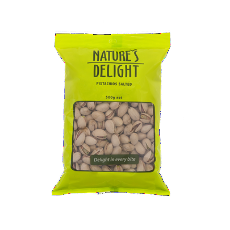 Pistachios Salted 500G - Natures Delight - Virgara Fruit & Veg