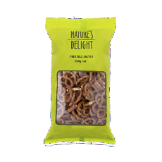 Pretzels Salted 200G - Natures Delight - Virgara Fruit & Veg