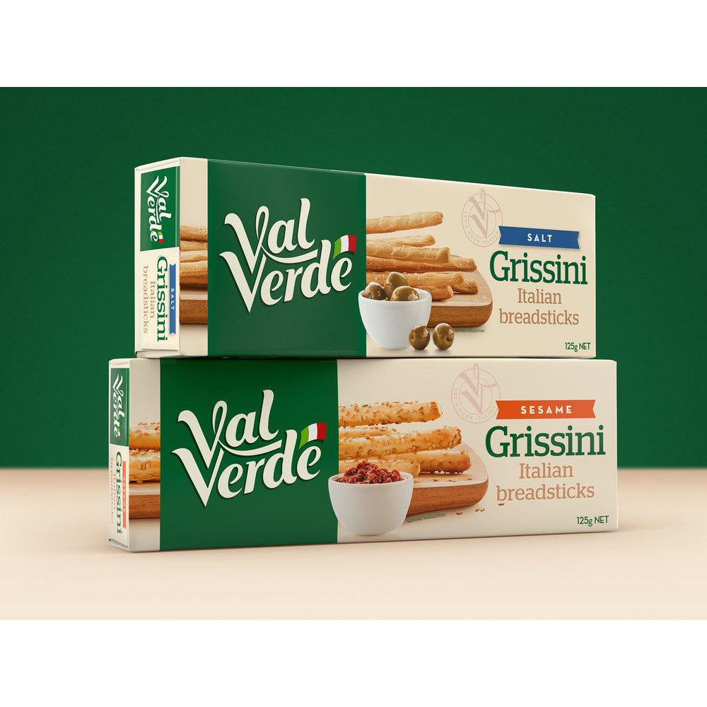 Val Verde Grissini Italian Breadsticks 125g - Virgara Fruit & Veg