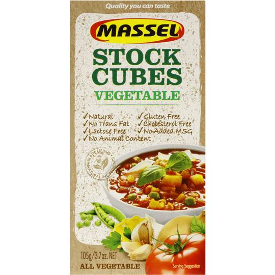Massel Stock Cubes 105g - Virgara Fruit & Veg