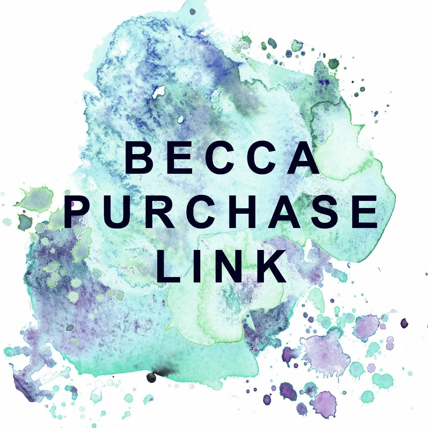 Purchase Link for Becca