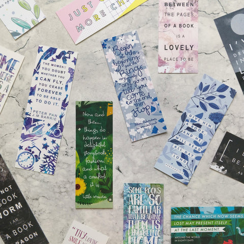 Random Bookmarks Pack of 50