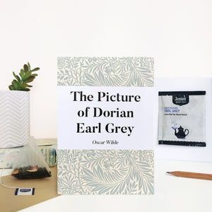 Greeting Card With Tea Bag - 'Dorian Earl Grey' - 374