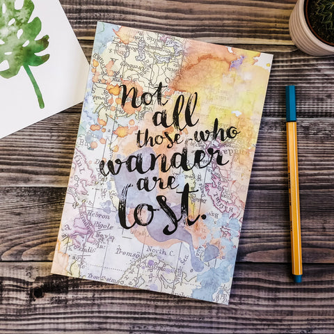 Travel Journal - Not All Those Who Wander Are Lost - JOURNAL 14