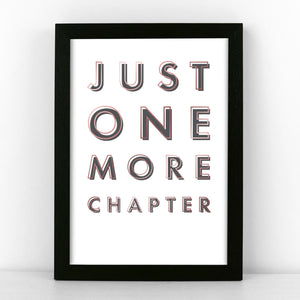 Black & Copper - One More Chapter - Sans Print - SANS-B-05
