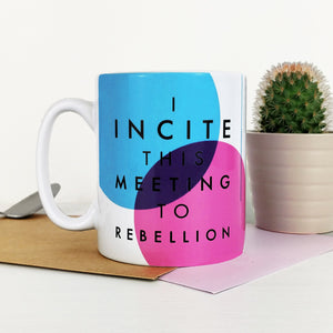Suffragette Mug 'Rebellion'