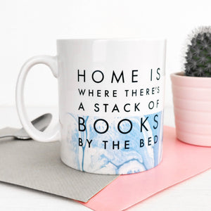 Literary Mug 'A Stack Of Books'