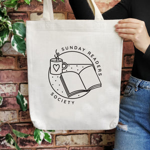 TB18 Literary Large Tote Bag - Sunday Readers Society