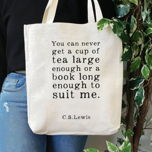 TB08 Cup Of Tea - Large Tote Bag