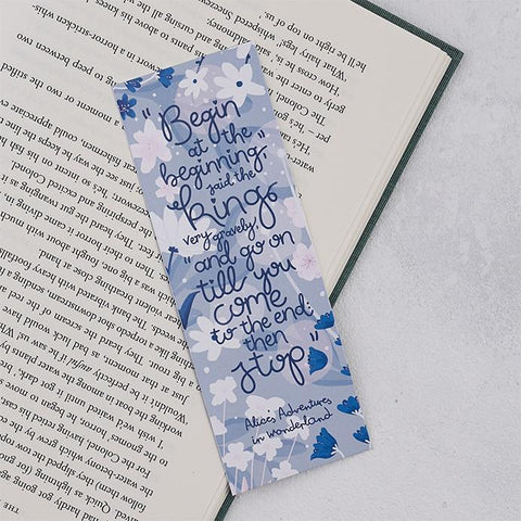 Pack of 25 Alice in Wonderland Bookmarks