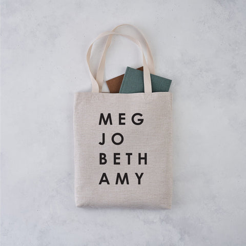 TB20 Little Women March Sisters Tote Bag