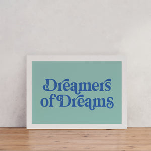 "Retro Style ""Dreamers of Dreams"" - Empowering Art"