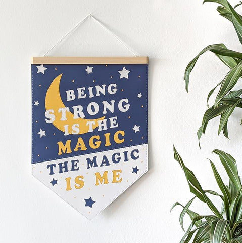 "Pennant Print - ""The Magic Is Me"" - PEN3"