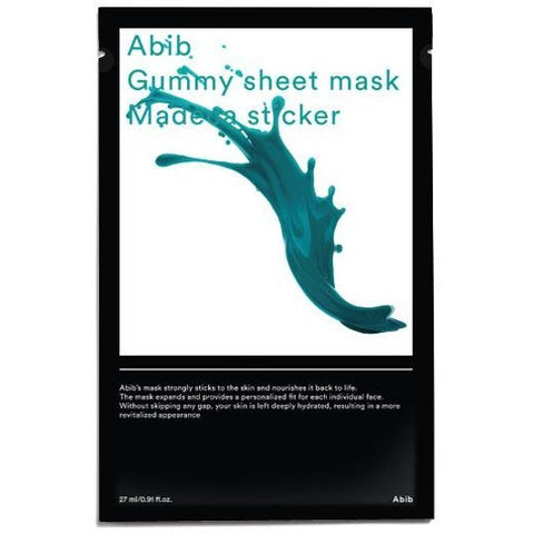 Abib Gummy Sheet Mask Madecassoside Sticker