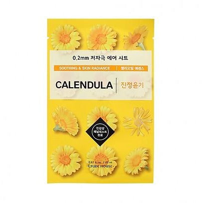 Etude House 0.2mm Therapy Air Mask (Calendula)