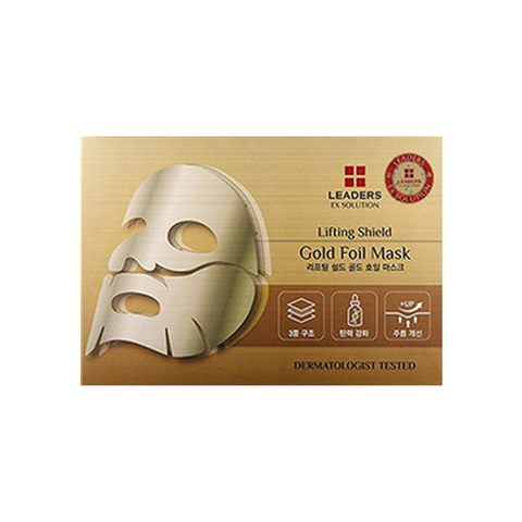 Leaders Ex Solution Lifting Shield Gold Foil Mask