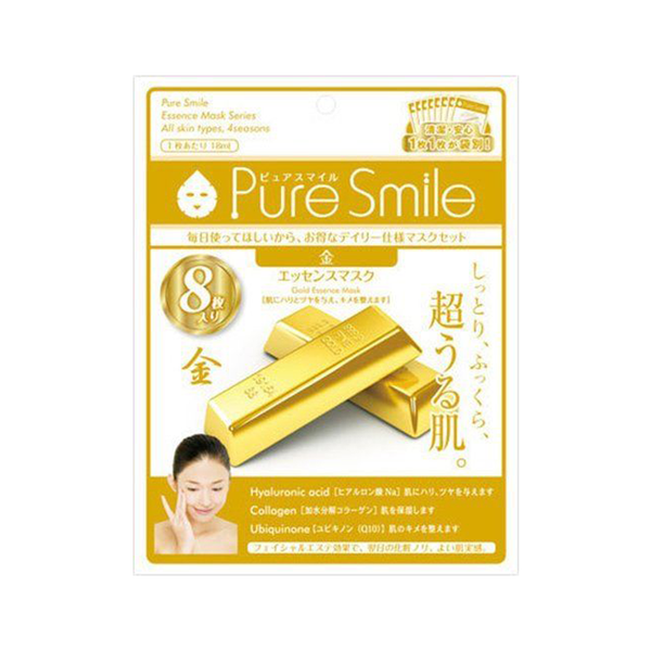 Sun Smile Pure Smile Milky Essence Mask (Gold)