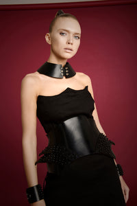 0770 Cibele leather corset belt