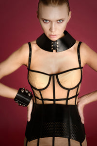 0770 Ecate leather corset belt