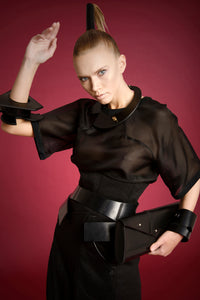 0770 Eris leather cuff