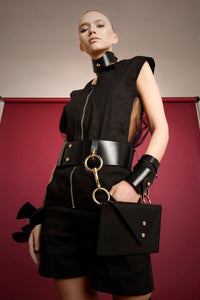 0770 Calliope leather belt bag