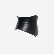 Load image into Gallery viewer, 0770 Triangle leather corset belt