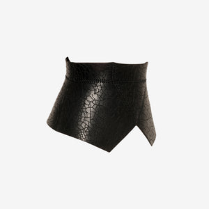 Branches leather corset belt