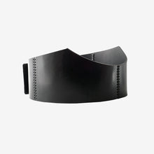 Load image into Gallery viewer, Snake leather waist belt