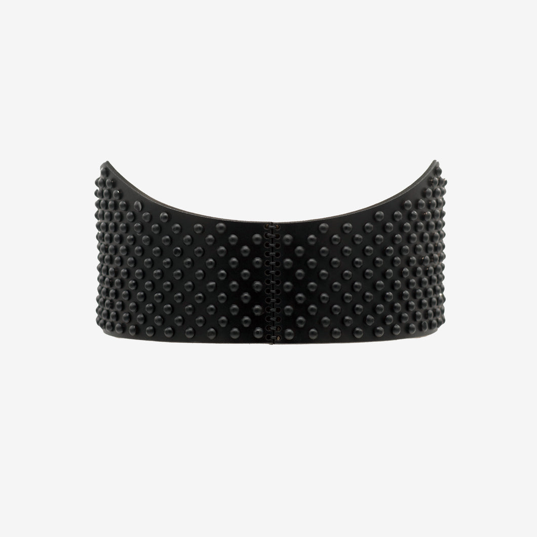 Demetra leather belt