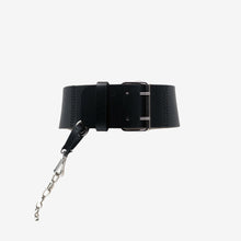 Load image into Gallery viewer, 0770 Gea chaine leather belt