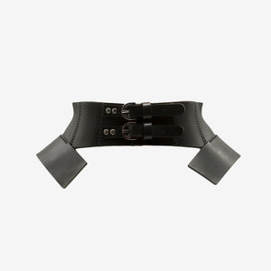ARTEMIDE LASER CUT LEATHER BELT - 0770shop