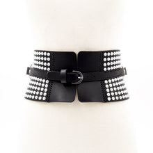 Load image into Gallery viewer, 0770 Leather waist belt