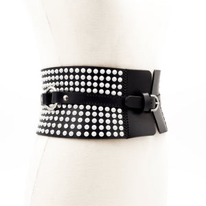 0770 Leather waist belt