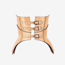Load image into Gallery viewer, B143 leather corset