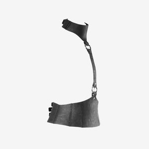 Marion leather harness belt